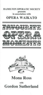 Favourite Opera Moments, 1983
