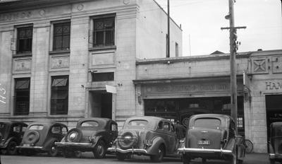 Buildings on Alma Street