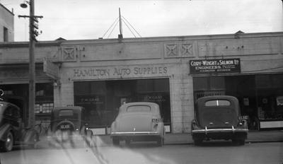 Hamilton Auto Supplies building