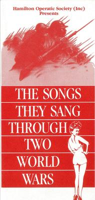 The Songs They Sang Through Two World Wars, 1986