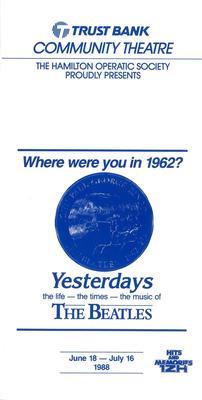 Yesterdays, 1988