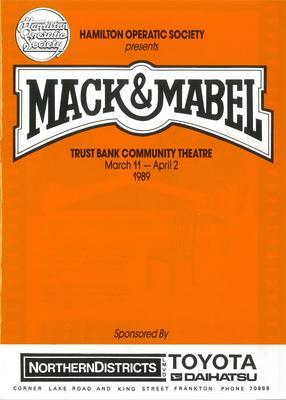 Mack & Mabel, 1989