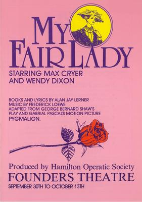 My Fair Lady, 1989