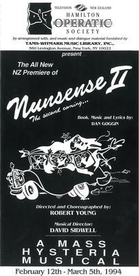 Nunsense II, 1994