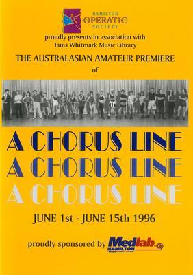 A Chorus Line, 1996