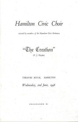 The Creation, 1948