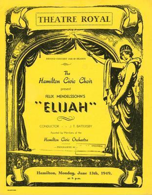 Elijah, 1949