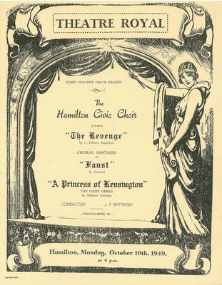 First Concert, 1949-50 Season
