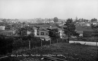 View of Frankton across Queens Avenue