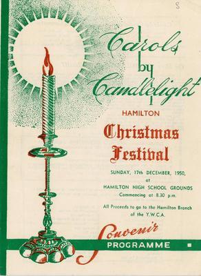 Carols by Candlelight, 1950