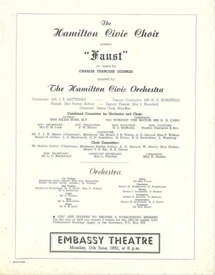 Faust, 1951