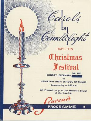 Carols by Candlelight, 1952