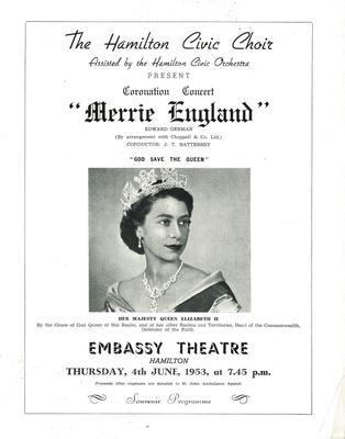 Merrie England, 1953