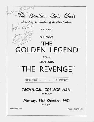 Concert, 1953