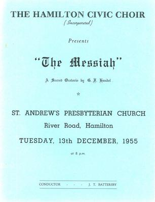 Messiah, 1955