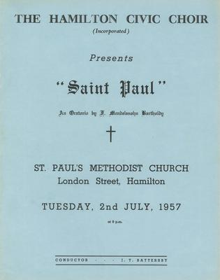 Saint Paul, 1957