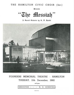 Messiah, 1962