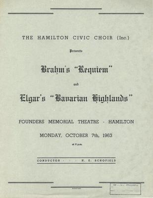 Requiem, 1963