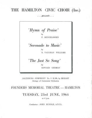 June Concert, 1964
