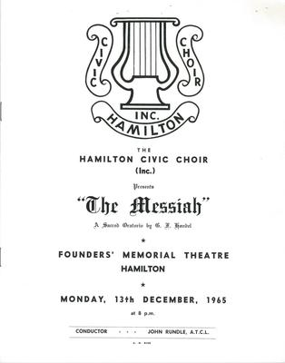 Messiah, 1965