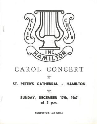 Carol Concert, 1967