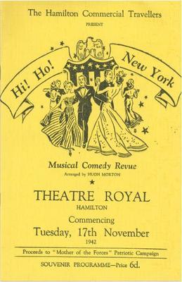 Hi! Ho! New York, 1942