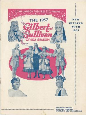 Gilbert and Sullivan Opera Season, 1957