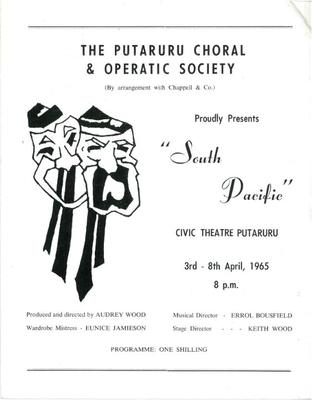 South Pacific, 1965
