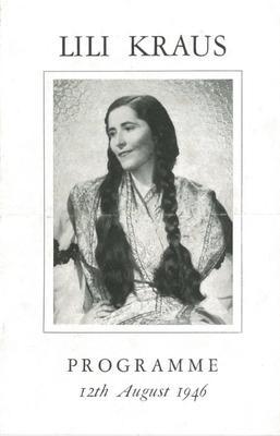 Lili Kraus, 1946