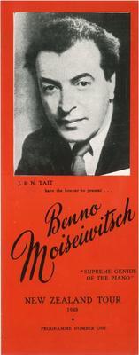 Benno Moiseiwitsch, 1948