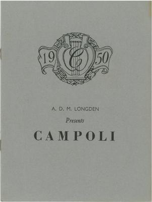 Alfredo Campoli, 1950