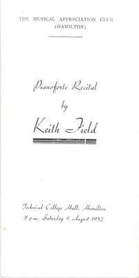 Keith Field, 1952