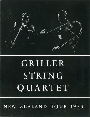 Griller String Quartet, 1953