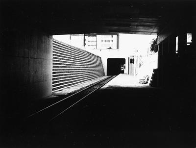 Hamilton railway station platform