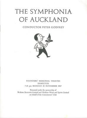 Symphonia of Auckland, 1967