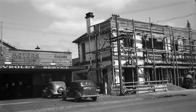 Hamilton Fire Station renovations