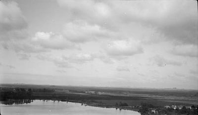 Aerial view of Lake Rotoroa
