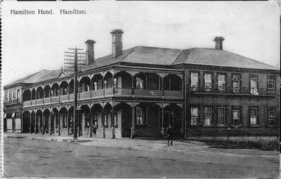 "Postcard - ""Hamilton Hotel. Hamilton"""