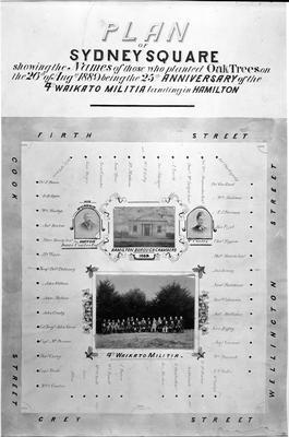 Plan of Sydney Square