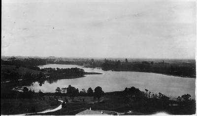 Hamilton Lake from water tower