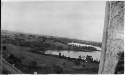 Hamilton Lake and Melville in distance