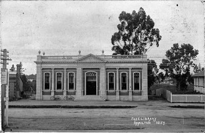 "Hamilton's ""Free Public Library"""