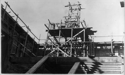 State Theatre under construction