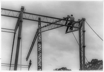 Construction of YMCA building