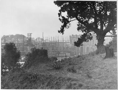 Construction of Chief Post Office c. 1939