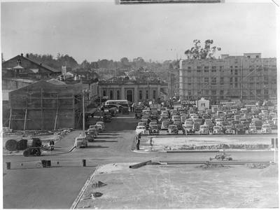 Garden Place as a car park c. 1940