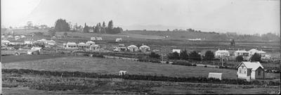 Frankton panoramic view featuring Frankton School