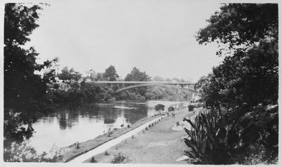 Waikato River and Traffic Bridge