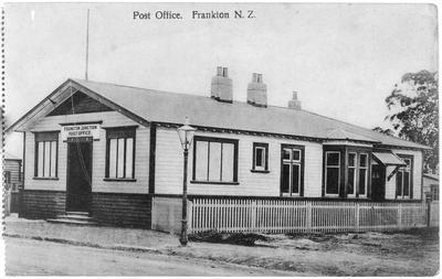 """""""Post Office. Frankton N.Z."""
