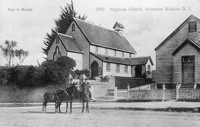 """""""Anglican Church, Hamilton Waikato N Z."""""""